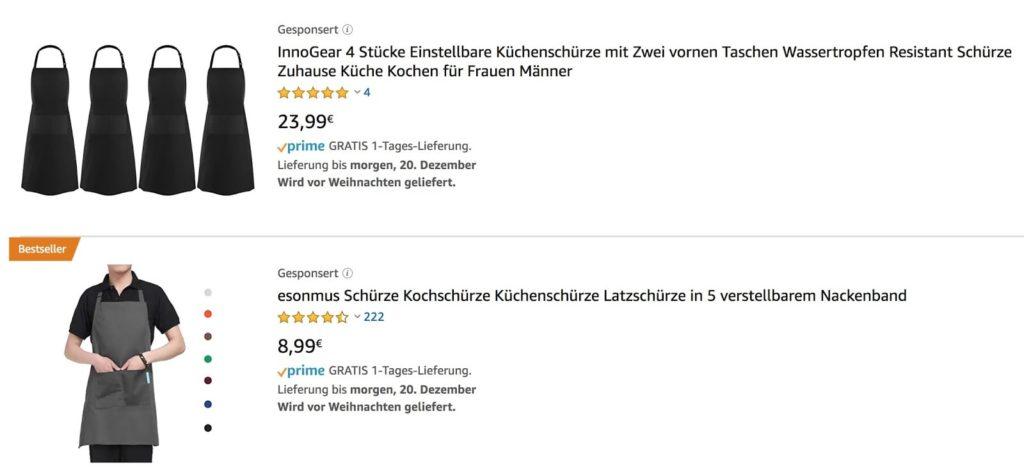 Amazon-PPC-Anzeige-Beispiel