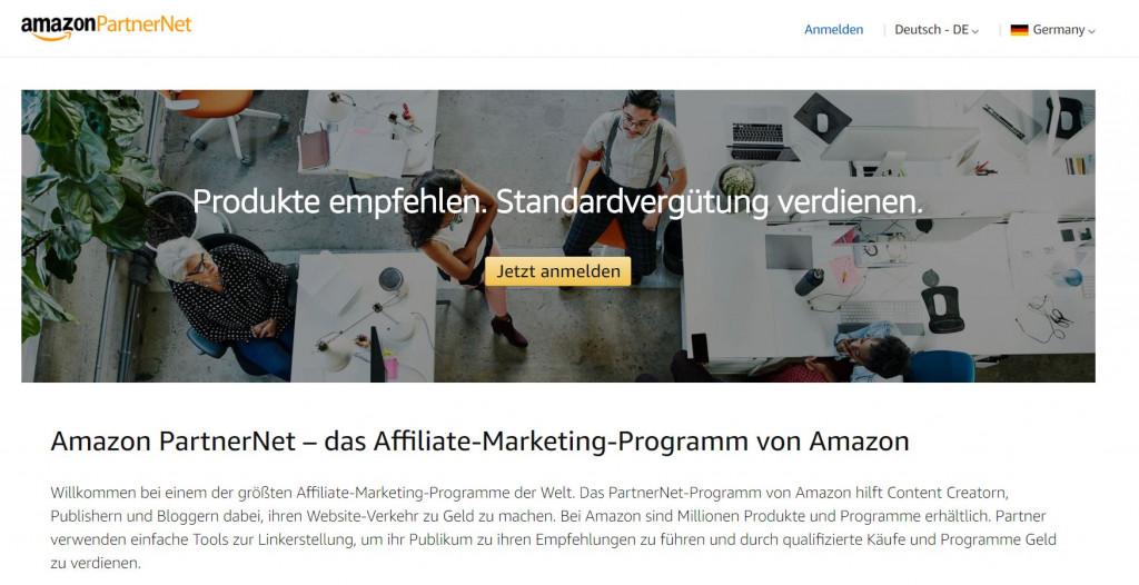Amazon Affiliate PartnerNet